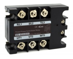 DC to AC 3 phase low cost relay for resitive load only