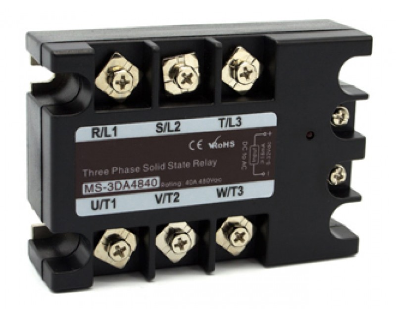 AC to AC Three Phase SSR(MS-3AA48XX)